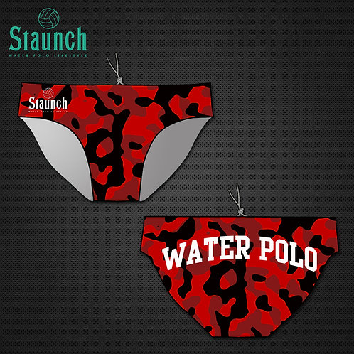 Men's Red Camouflage WP Suit