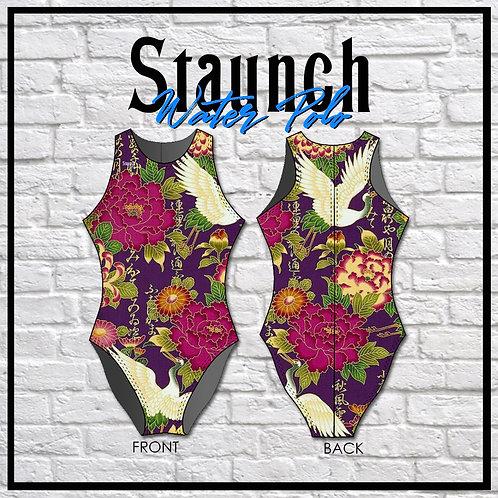 Staunch Oriental -  Plum Crane 1 WP Suit