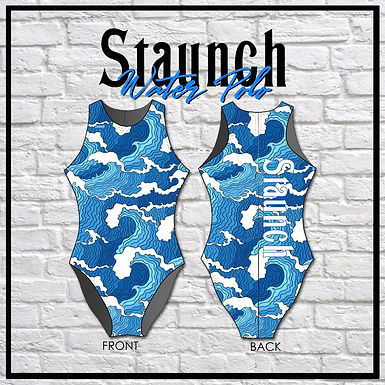 Staunch Blue Waves WP Suit