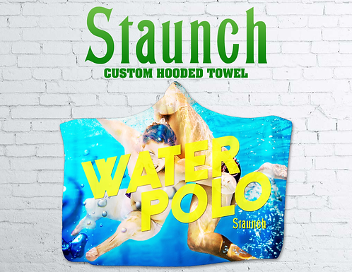 Staunch - Swimming With Balls Hooded Towel