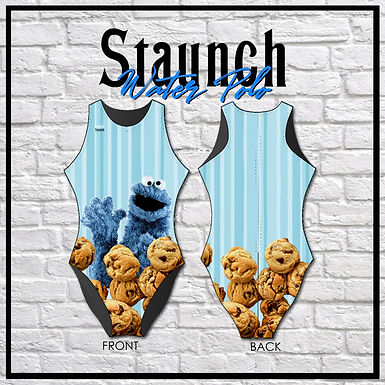 Staunch Cookie Monster - Striped Cookies WP Suit