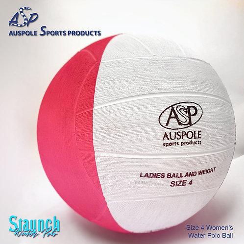 ASP Training Size 4 Women's Water Polo Ball