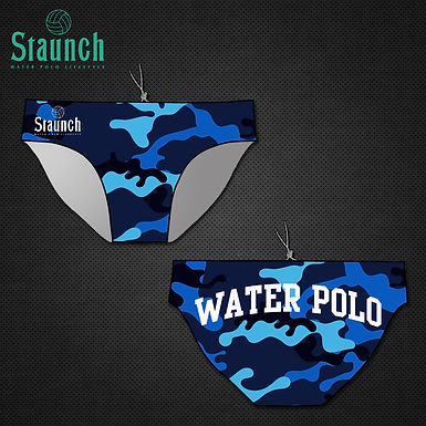 Men's Blue Camouflage WP Suit