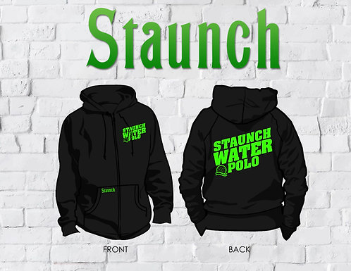 Personalized Zipper Hoodies With Strings   AUS   Staunch Water Polo