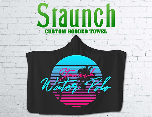 Customized Hooded Beach Towels For Everyone   2021   Staunch Water Polo
