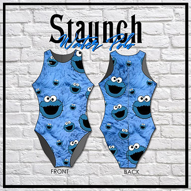Staunch Cookie Monster - Furry All OverWP Suit