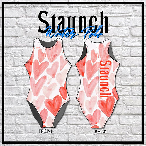 Staunch Water Color Hearts WP Suit
