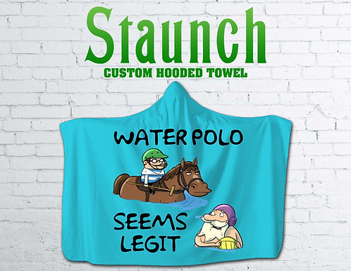 Staunch - Seems Legit Hooded Towel II