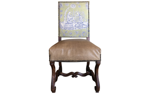 Louis Xiv Style Upholstered Dining