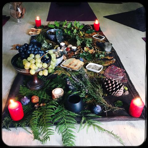 autel cérémonie mabon 2019