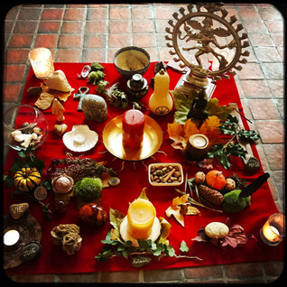autel cérémonie samhain retraite reliance 2020