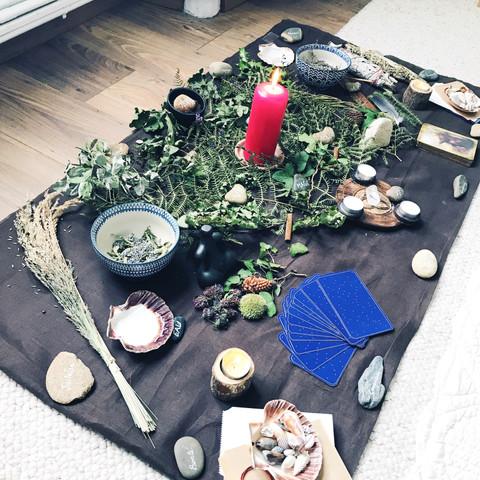 autel cérémonie solstice d'été 2019