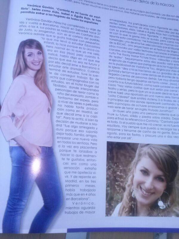 Entrevista Verónica Gavilán actriz