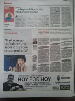 Verónica Gavilán actriz