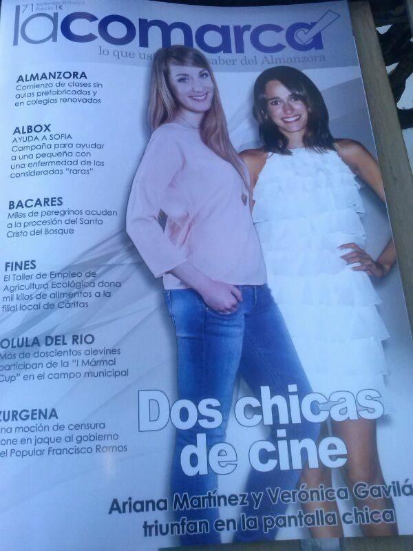 Portada Verónica Gavilán actriz
