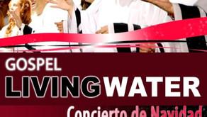 10 DE DICIEMBRE, LIVING WATER EN TEATRO LOPE DE VEGA!!