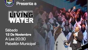 VALDILECHA DESPIDE SUS FIESTAS CON EL CORO GOSPEL LIVING WATER