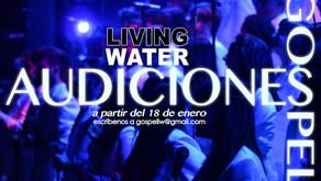 AUDICIONES LIVING WATER