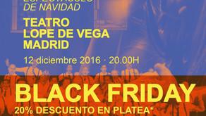 BLACK FRIDAY CON EL CORO GOSPEL LIVING WATER