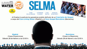 """Living Water en el PREESTRENO de la nominada al Oscar, """"SELMA"""""""