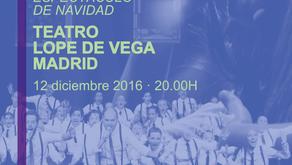 IX Concierto en el Teatro Lope de Vega de Madrid.