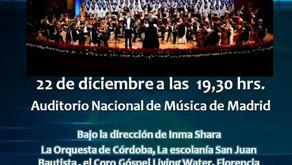 LIVING WATER EN EL AUDITORIO NACIONAL DIRIGIDOS POR INMA SHARA