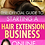 Thumbnail: The Official Guide to Starting a Hair Extension Company Online & Workbook