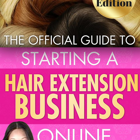 The Official Guide To Starting A Hair Extension Company Online Workbook