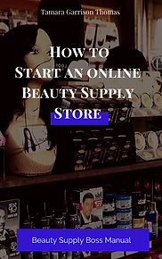how to start an onlinE BEAUTY SUPPLY STO