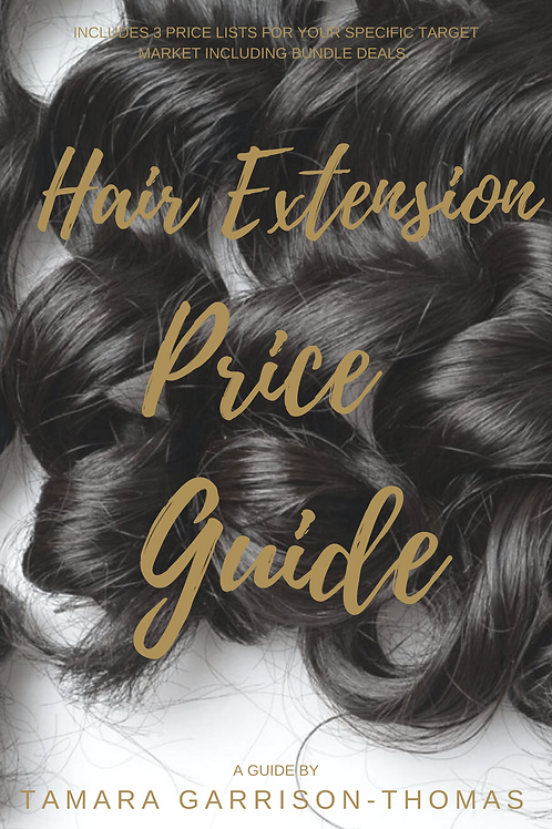 Hair Extension Price List Guide
