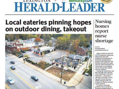 Sav's Highlighted in Lexington-Herald Leader for Local Businesses Persevering through COVID-19