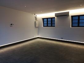 Low Level LED Garage Lighting