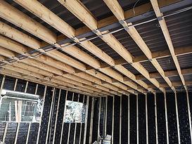 First Fix Garage Installation