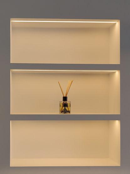 Warm White LED Lighting In Profiles