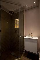 Shower room niche lighting