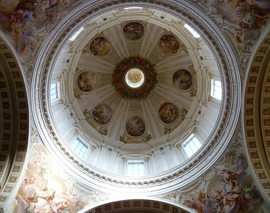 I decori della Cupola del Duomo