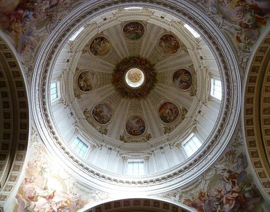 Decorazioni della cupola del Duomo