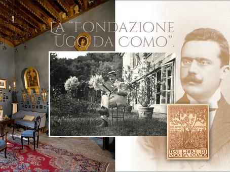 """La """"Fondazione Ugo Da Como"""" di Lonato."""