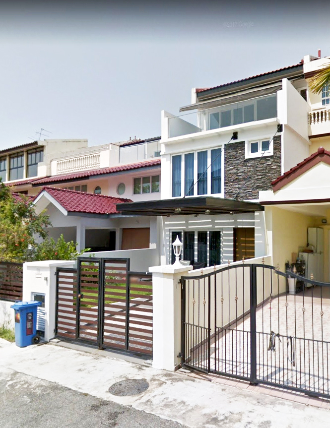 terrace house @ lorong marican