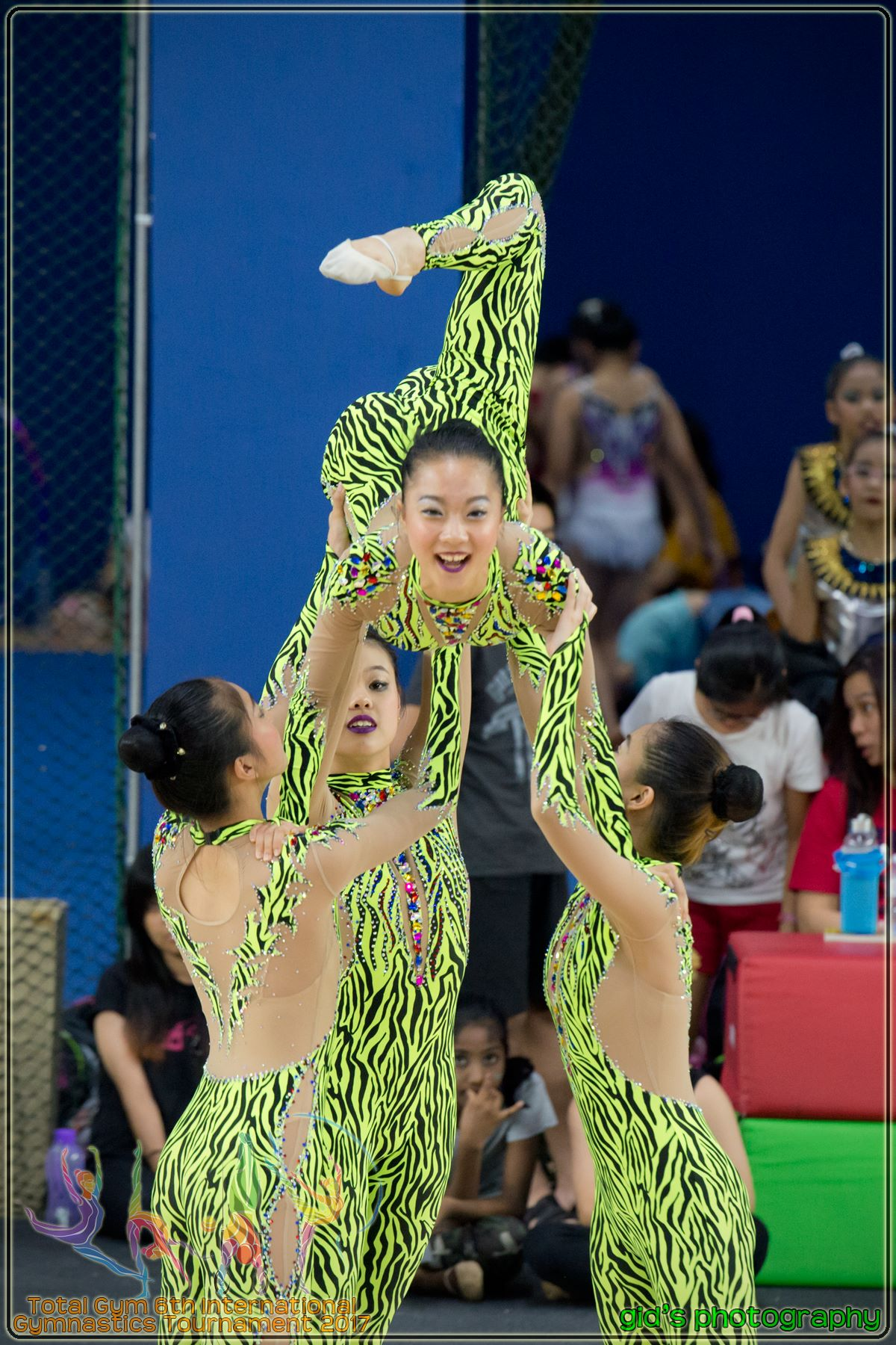 Aesthetic Group Gymnastics