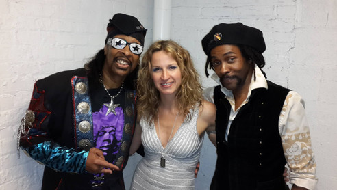 Skibby with Bootsy and Ana Popovic 2014