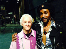 StanSkibby with Roby Krieger guitarist for (The Doors) Experience Hendrix tour 2014