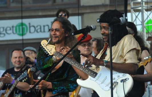 Leon Hendrix et Stan Skibby, à Wrocław.