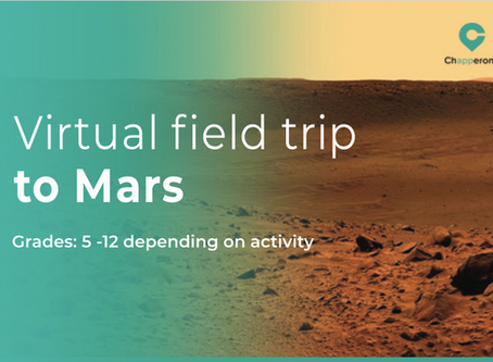 Get travelling... to Mars! Free virtual field trip guide