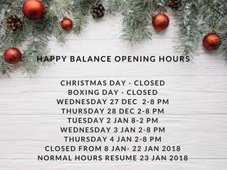 Happy Balance Health Holiday Wishes