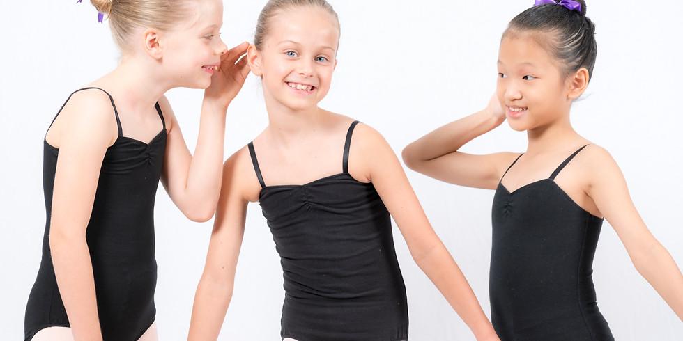Saturday Grade 3 Ballet, 1.15pm - 1.45pm