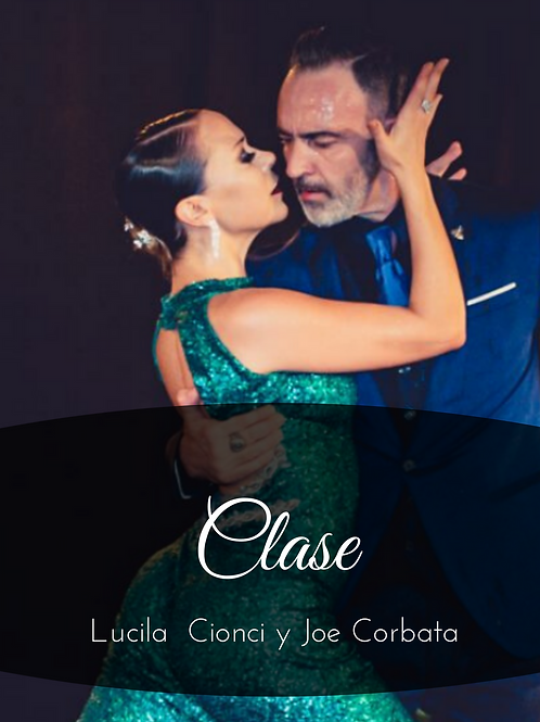 Clase Lucila Cionci & Joe Corbata 29/08