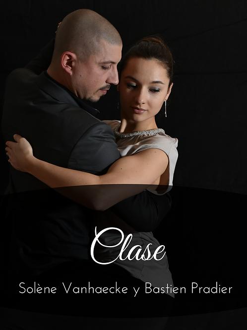 Clase Solene Vanhaecke & Bastien Pradier 29/08