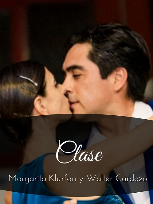 Clase Margarita Klurfan & Walter Cardozo 29/08