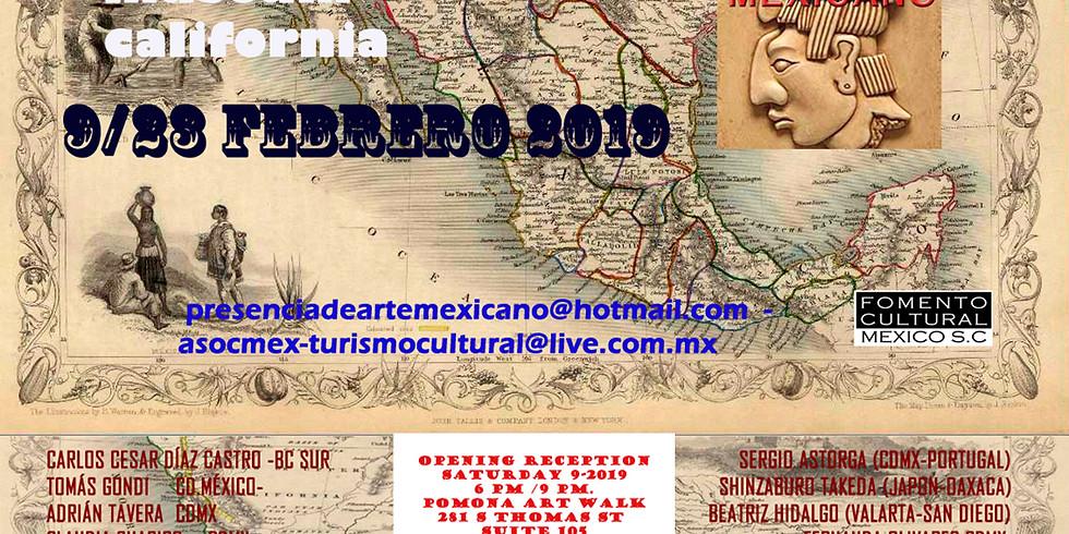 MAPA DEL ARTE MEXICANO